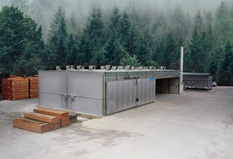 Incomac secadero para madera ICD